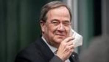CDU-Vorstand: Laschet hält an Anspruch auf Kanzlerkandidatur fest