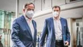 Kanzlerkanditatur der Union: Markus Söder hält laut Berichten an Kanzlerkandidatur fest