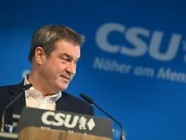 Bundesvorstand tagt am Abend: Söder: CDU allein entscheidet über K-Frage