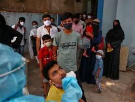 Corona-Lage in Indien dramatisch: 274.000 neue Infektionen - an einem Tag