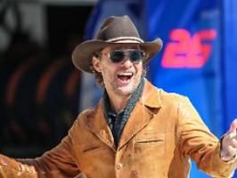 Der Schauspieler als Gouverneur?: Texander begrüßen McConaugheys Pläne