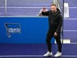Trainer Pal Dardai ist wieder fit und zuversichtlich