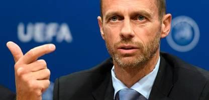 Uefa: Aleksander Ceferin droht Spielern von Super-League-Teams mit Nationalteam-Bann