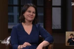 Kanzlerkandidatin: Kanzlerkandidatin: So lief Baerbocks Interview bei ProSieben