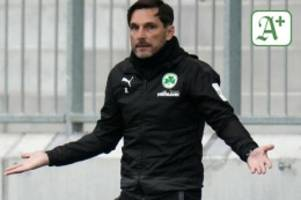 Fußball: Fürth vor Geduldsspiel gegen Braunschweig