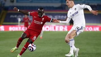 premier league - fc liverpool nur 1:1 bei leeds united