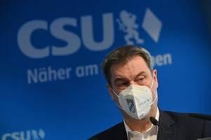 Markus Söder lässt der CDU das letzte Wort