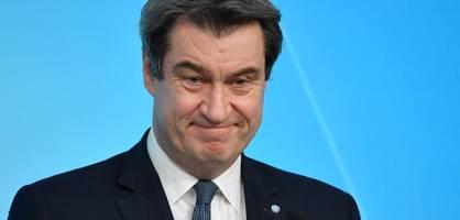 Söder verzichtet auf Kanzlerschaft, wenn Union Wahl verliert