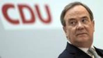 Bundestagswahl 2021: CDU-Bundesvorstand stimmt für Armin Laschet als Kanzlerkandidaten