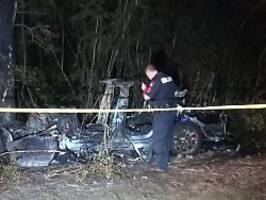 Zwei Tote in Texas: Musk: Autopilot bei Tesla-Unfall nicht aktiv