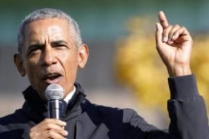 US-Justiz: Obama äußert sich zu Chauvin-Urteil