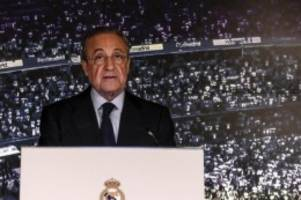 Notwendiger Schritt: Real-Boss Perez: Die Super League wird den Fußball retten