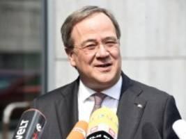 Abstimmung im CDU-Vorstand: Laschet soll Kanzlerkandidat werden