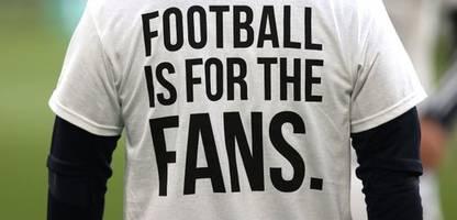 FC Liverpool spielt nur Remis bei Leeds United - Proteste gegen Super League
