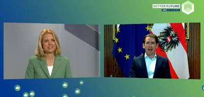 Sebastian Kurz fordert, die Pandemie zur Erneuerung Europas zu nutzen