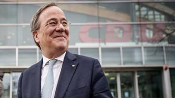 Kanzlerkandidat der Union: Jetzt gilt's für Armin Laschet