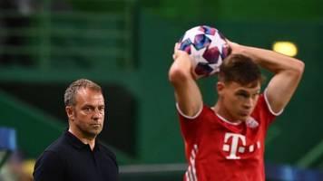 Suche nach Löw-Nachfolger: Bayern-Profi Kimmich wünscht sich Flick als Bundestrainer