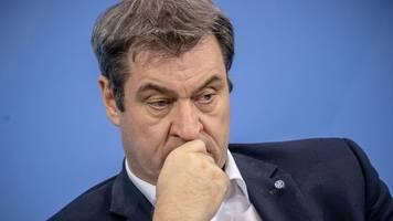 Söder: Am Mittag zu CDU-Vorstandsvotum für Laschet äußern