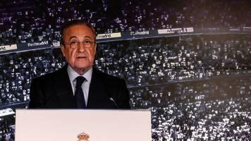 Notwendiger Schritt - Real-Boss Perez: Die Super League wird den Fußball retten