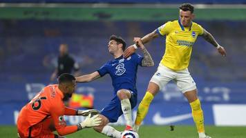 Premier League - Dämpfer für Chelsea: Nur Remis gegen Brighton & Hove Albion