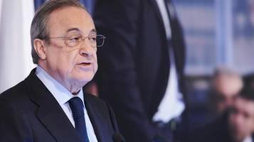Super League: Real-Präsident Perez will Fußball-Spieldauer verkürzen