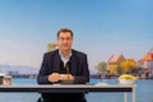 um 12.00 uhr  - markus söder im live-stream: sein statement zum cdu-vorstandsvotum für laschet