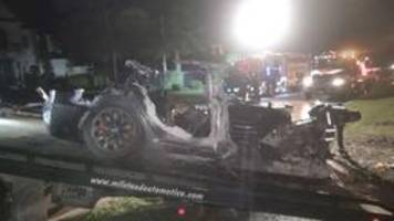 tödlicher unfall: autopilot laut tesla nicht aktiv