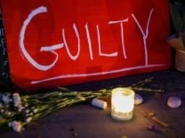 Reaktionen auf Urteil im Floyd-Prozess: Gerechtigkeit für George bedeutet Freiheit für alle