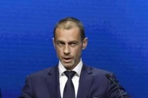UEFA-Präsident: Ceferin lobt Vereine für Super-League-Rückzug