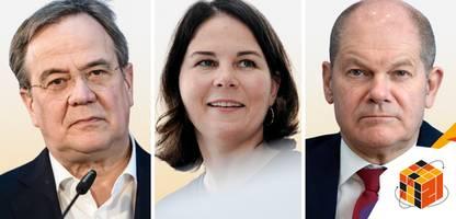Bundestagswahl 2021: Welche Wirtschaft wollen Olaf Scholz, Annalena Baerbock und Armin Laschet?