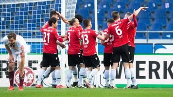 Negativserie vorbei: Hannover 96 gewinnt gegen Regensburg