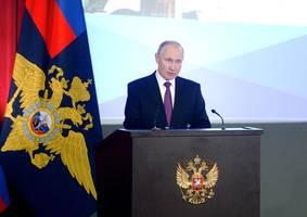 Putins Rede an die Nation unter Post-Covid-Bedingungen