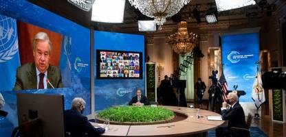 Klimagipfel der USA: Biden's erster Klima-Coup