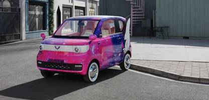 SAIC Wuling Mini EV: Dieser Winzling hängt Tesla in China locker ab