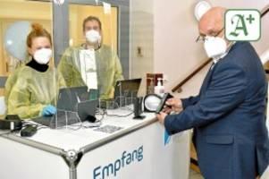 Gesundheit und Verein: Elmshorner MTV betreibt Testzentrum am Koppeldamm