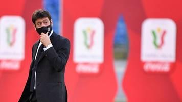 Nach Super-League-Aus: Zukunft von Juve-Boss Agnelli im Fokus
