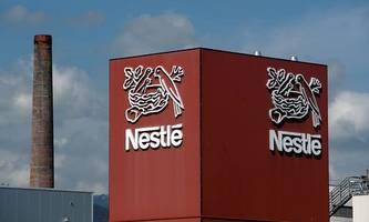 Nestlé startet zu Jahresbeginn durch