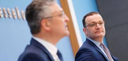 Corona-Lage: Jens Spahn und RKI-Chef Lothar Wieler über die dritte Welle