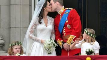 Hochzeitstag - William und Kate: Zehn Jahre royale Traumhochzeit