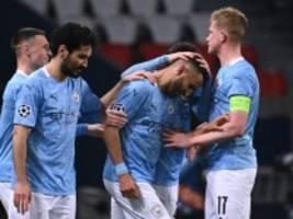 mancity in der champions league: kurzpass um kurzpass richtung finale
