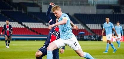 champions league: kevin de bruyne war manchester citys anführer beim sieg über paris saint-germain