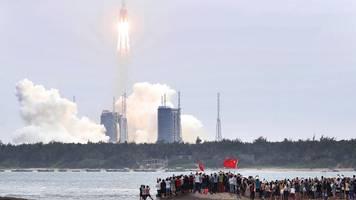 Raumfahrt: China startet Rakete mit Kernmodul für Raumstation