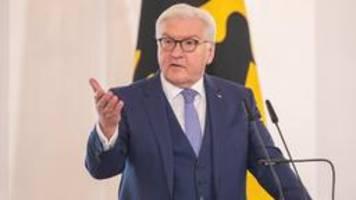 Hass gegen Kommunalpolitiker: Steinmeier ruft zu Gegenmaßnahmen auf
