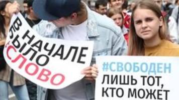 repressionen in russland: journalisten, agenten, extremisten