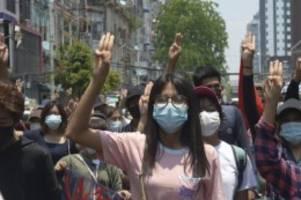 Nach Militärputsch: UN: Myanmar-Proteste stellen Militär vor Schwierigkeiten