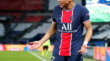 champions league - wadenprobleme: paris saint-germain bangt um mbappe-einsatz