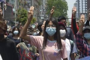 UN: Myanmar-Proteste stellen Militär vor Schwierigkeiten