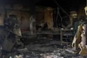 kurzschluss auf der intensivstation  - tragödie in indien: mindestens 18 tote bei brand auf corona-station