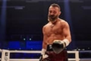Ünsal arik - fünf tage nach seinem kampf liegt 40 jahre alter boxer mit corona-infektion in klinik