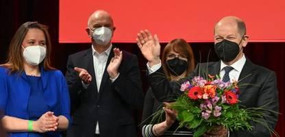 SPD-Kanzlerkandidat: Olaf Scholz hält Rennen um die Kanzlerschaft für offen